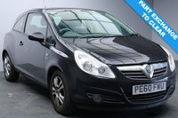 USED 2010 60 VAUXHALL CORSA 1.2 ENERGY 3d 83 BHP MOT until 24 November 2019