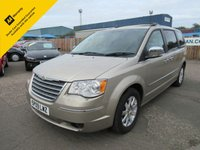 2009 CHRYSLER GRAND VOYAGER 2.8 CRD LIMITED 5d AUTO 161 BHP £6995.00