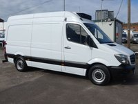 USED 2014 14 MERCEDES-BENZ SPRINTER 313 CDI MWB HI ROOF CHILLER STANDBY, 130 BHP [EURO 5]