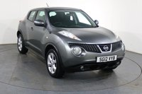 USED 2012 12 NISSAN JUKE 1.6 ACENTA 5d 117 BHP ONE LADY OWNER with 6 Stamp SERVICE HISTORY