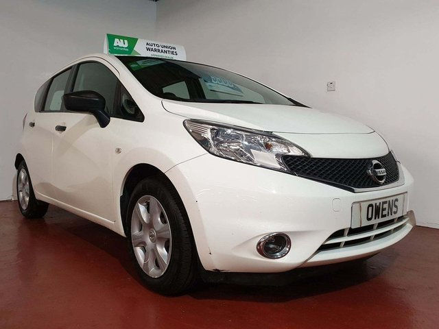 2014 14 NISSAN NOTE  1.5 dCi Visia 5dr (a/c)