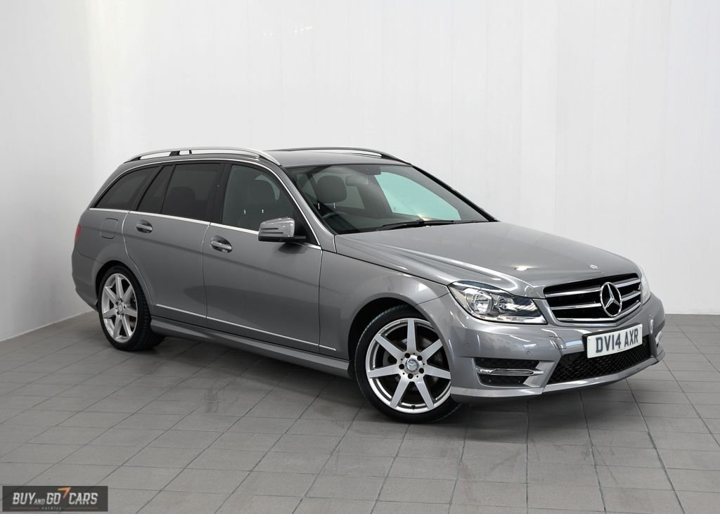 USED 2014 14 MERCEDES-BENZ C CLASS 2.1 C250 CDI AMG SPORT EDITION 5d AUTO 202 BHP **PAY NOTHING FOR 2 MONTHS**