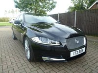 USED 2012 JAGUAR XF 3.0 V6 PREMIUM LUXURY 4d AUTO 240 BHP