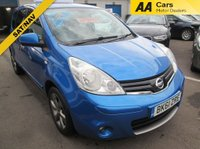 2011 NISSAN NOTE AUTOMATIC  1.6 N-TEC 5d AUTO 110 BHP £4895.00