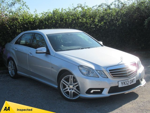 USED 2012 12 MERCEDES-BENZ E CLASS 2.1 E250 CDI BLUEEFFICIENCY SPORT 4d AUTOMATIC * LUXURY AUTOMATIC * AMG PACK * SATELLITE NAVIGATION *