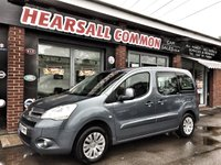 2009 CITROEN BERLINGO 1.6 MULTISPACE VTR HDI 5d 75 BHP £3000.00