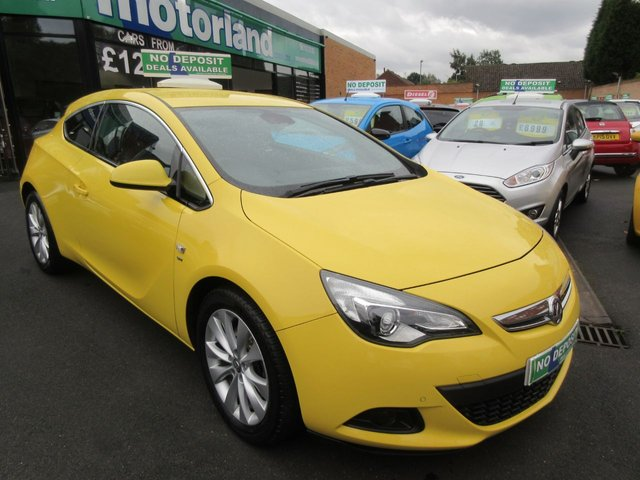 USED 2013 13 VAUXHALL ASTRA 1.4 GTC SRI S/S 3d 138 BHP ** 01543 379066 ** JUST ARRIVED ** FULL SERVICE HISTORY **