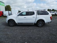 USED 2016 66 NISSAN NAVARA 2.3 DCI N-CONNECTA 4X4 5 Seat Lifestyle Double Cab Pickup with Rear Canopy with Windows Towbar Side Steps Sat Nav Rear Camera Stunning in White with Great Looking Alloys Parking Sensors Bluetooth