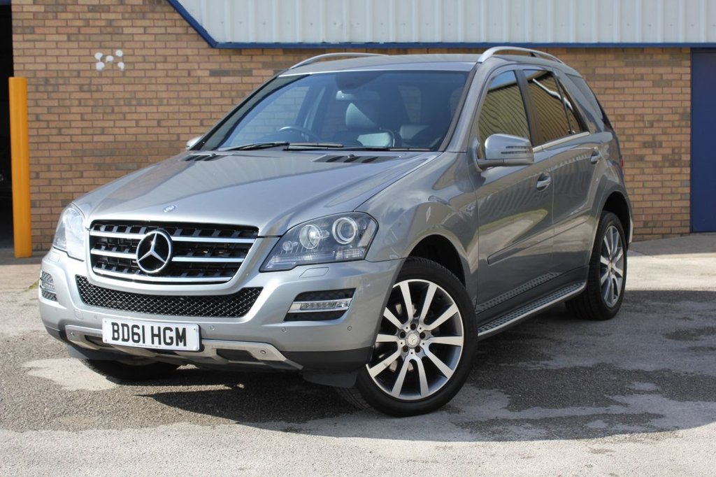 USED 2011 61 MERCEDES-BENZ M-CLASS 3.0 ML300 CDI BLUEEFFICIENCY GRAND EDITION 5d AUTO 204 BHP SUPERB 4X4 - MUST BE SEEN!