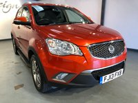 2013 SSANGYONG KORANDO 2.0 LIMITED EDITION 5d 175 BHP £4995.00