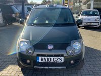 USED 2010 10 FIAT PANDA 1.2 16V MULTIJET CROSS 5d 4x4 Full Service History  Electric Windows Power Steering Alloy Wheels Remote Locking Electric Mirrors  Fiat Panda 4x4 Cross 1.2 5d Full Service History Electric Windows Power Steering Alloy Wheels Head Light Washers 12 Months FREE AA Breakdown Cover