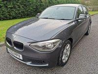 USED 2012 12 BMW 1 SERIES 2.0 116D ES 5d 114 BHP £30 Road Tax, 70MPG+, Bluetooth / USB Etc.