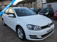 2014 VOLKSWAGEN GOLF 1.4 MATCH TSI BLUEMOTION TECHNOLOGY 5d 120 BHP £10995.00