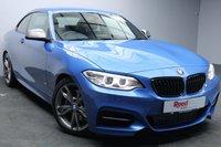 "USED 2016 16 BMW M2 3.0 M235I 2d 322 BHP 18""ALLOYS+1 OWNER+NAV+LEATHER+PARKING SENSORS+PRIV GLASS+FULL BMW SERVICE HISTORY"