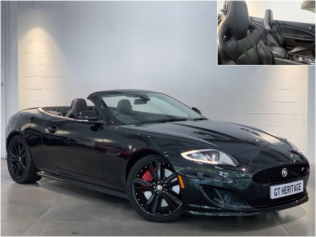 2012 62 JAGUAR XK 5.0 XKR [SPPED+BLACK PACK][510 BHP]