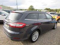USED 2014 14 FORD MONDEO 2.0 ZETEC BUSINESS EDITION TDCI 5d 161 BHP 1 PREV OWNER
