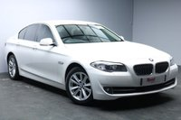 """USED 2012 62 BMW 5 SERIES 2.0 520D SE 4d 181 BHP 17""""ALLOYS+LEATHER+BLUETOOTH+PARKING SENSORS+TINTED GLASS+CRUISE CONTROL"""
