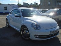 USED 2015 15 VOLKSWAGEN BEETLE 1.6 DESIGN TDI BLUEMOTION TECHNOLOGY 3d 104 BHP GREAT HISTORY+CONDITION
