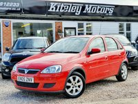 USED 2005 05 VAUXHALL CORSA 1.2 BREEZE 16V TWINPORT 5d 80 BHP 1 OWNER