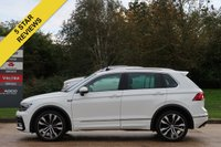 USED 2016 66 VOLKSWAGEN TIGUAN 2.0 R LINE TDI BMT 4MOTION DSG 5d AUTO 148 BHP SAT NAV, AUTOMATIC, PANORAMIC ROOF, LANE AND FRONT ASSIST