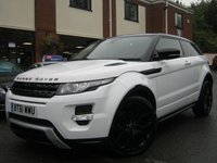 USED 2012 61 LAND ROVER RANGE ROVER EVOQUE 2.2 SD4 DYNAMIC LUX 3d AUTO 190 BHP