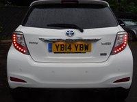 USED 2014 14 TOYOTA YARIS 1.5 HYBRID TREND 5d AUTO 61 BHP
