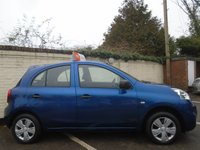 USED 2013 63 NISSAN MICRA 1.2 VISIA 5d 79 BHP GUARANTEED TO BEAT ANY 'WE BUY ANY CAR' VALUATION ON YOUR PART EXCHANGE