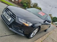 USED 2015 15 AUDI A4 2.0 TDI ULTRA SE TECHNIK 4d 109 BHP 1 OWNER + PARKING SENSORS + SAT NAV + LEATHER