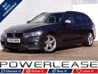 USED 2015 65 BMW 3 SERIES 2.0 320D M SPORT TOURING 5d AUTO 181 BHP HEATED SEATS SATNAV 30POUNDTAX