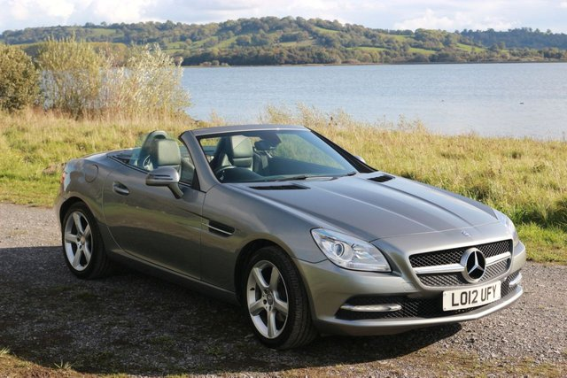 2012 12 MERCEDES-BENZ SLK 1.8 SLK200 BLUEEFFICIENCY 2d AUTO 184 BHP
