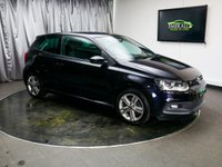 USED 2013 13 VOLKSWAGEN POLO 1.2 R LINE TSI 3d 104 BHP **FREE UK DELIVERY**