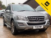 USED 2011 11 MERCEDES-BENZ M CLASS 3.0 ML350 CDI BLUEEFFICIENCY GRAND EDITION 5dr 231 BHP Full Mercedes history.