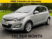 USED 2013 13 HYUNDAI I20 1.2 ACTIVE 5d. JUST BEEN SERVICED