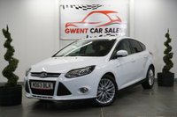 USED 2014 63 FORD FOCUS 1.6 ZETEC NAVIGATOR TDCI 5d 113 BHP GREAT LOW MILEAGE + HIGH SPEC