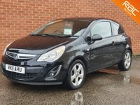 USED 2011 11 VAUXHALL CORSA 1.2 SXI A/C 3d ** MORE IN STOCK **
