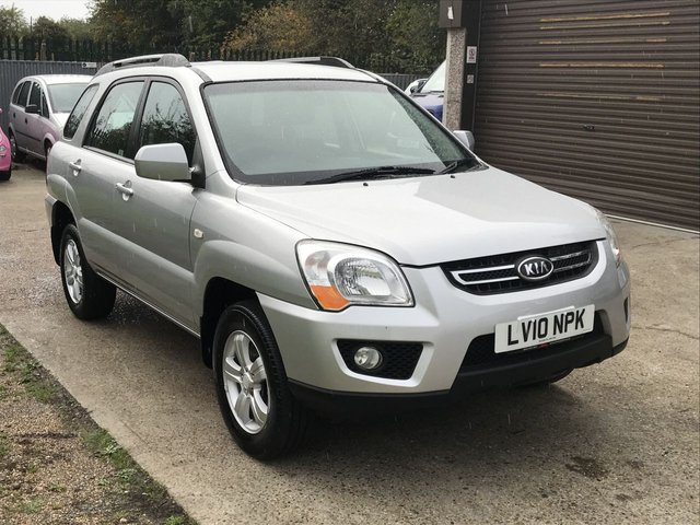 USED 2010 10 KIA SPORTAGE 2.0 XE 5d 140 BHP ONE OWNER WITH SERVICE HISTORY