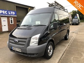 2014 FORD TRANSIT 2.2 350 MWB MED ROOF FWD 100 BHP CHOICE £7250.00