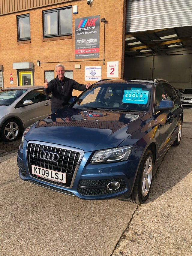 2009 09 AUDI Q5 3.0 TDI QUATTRO S LINE 5d AUTO 240 BHP A RARE OPENING PAN ROOF MODEL SOLD TO MARK  FROM SHEFFIELD
