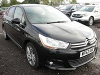 USED 2012 62 CITROEN C4 1.6 VTR PLUS HDI 5d 110 BHP 1 Owner - FSH - Cambelt changed