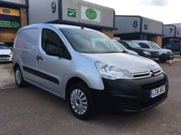2016 CITROEN BERLINGO 1.6 625 ENTERPRISE L1 HDI 74 BHP £6795.00