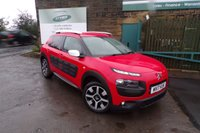 USED 2017 17 CITROEN C4 CACTUS 1.6 BLUEHDI FLAIR 5d 98 BHP One Former Owner Full Service History