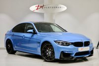 USED 2018 S BMW M3 3.0 M3 COMPETITION PACKAGE 4d AUTO 444 BHP