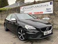 USED 2016 66 VOLVO V40 2.0 D2 R-DESIGN 5d 118 BHP FINANCE AVAILABLE+SATELLITE NAVIGATION+CRUISE CONTROL+FULL SERVICE HISTORY
