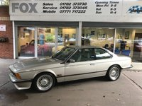 1986 BMW 6 SERIES 3.4 635CSI 2d 218 BHP £15975.00