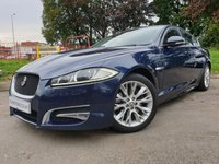 "USED 2013 13 JAGUAR XF 2.2 D SPORT 4d AUTO 200 BHP HISTORY+HALF LEATHER+18""ALLOY+NAV+CLIMATE+PARK+CLEAN CAR+ELEC+CD+"