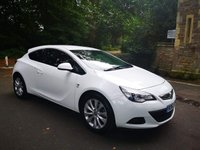 USED 2013 63 VAUXHALL ASTRA 1.7 GTC SRI CDTI S/S 3d 108 BHP CALL OUR SUPER FRIENDLY TEAM FOR MORE INFO 02382 025 888