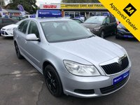 2012 SKODA OCTAVIA 1.6 SE TDI CR 5d 104 BHP IN METALLIC SILVER WITH MILES, FULL SERVICE HISTORY AND A GREAT SPEC £5499.00