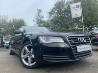 USED 2013 13 AUDI A8 3.0 TDI QUATTRO SE EXECUTIVE 4d AUTO 247 BHP HISTORY+LEATHER+PRIVGLASS+AUX+