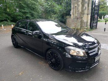 2013 MERCEDES-BENZ A CLASS 1.8 A180 CDI BLUEEFFICIENCY AMG SPORT 5d AUTO 109 BHP £12499.00