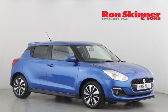 View our 2019 19 SUZUKI SWIFT 1.2 ATTITUDE DUALJET 5d 89 BHP